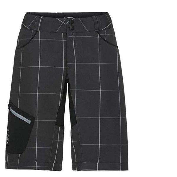 Vaude Damen Rad Shorts kurze Hosen Radhose mit Polster - schwarz