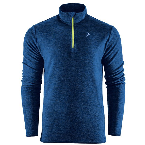 Thermal Fleece Zip - Herren Fleece Longshirt - 2ndLayer - navy