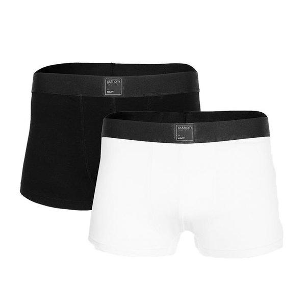 Outhorn - Herren 2er Set Boxershort - BIO-Baumwolle - weiß/schwarz