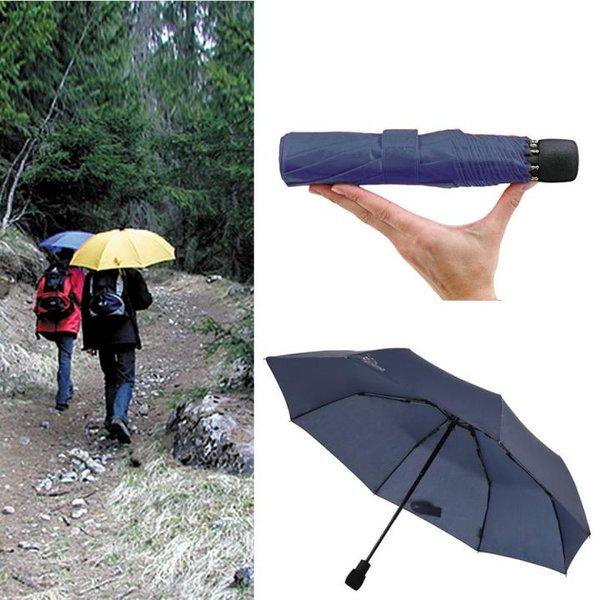 EuroSCHIRM - Göbel - Regenschirm Wanderschirm - light trek automatik, marine