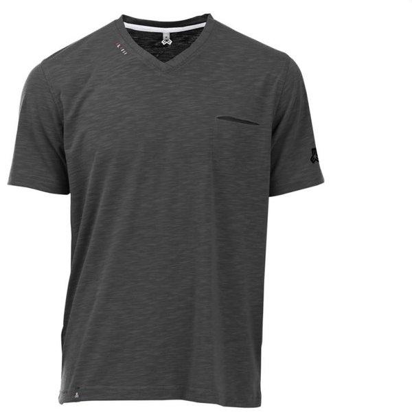 Maul - modisches Funktions-T-Shirt mit Brusttasche Ravensburg - schwarz