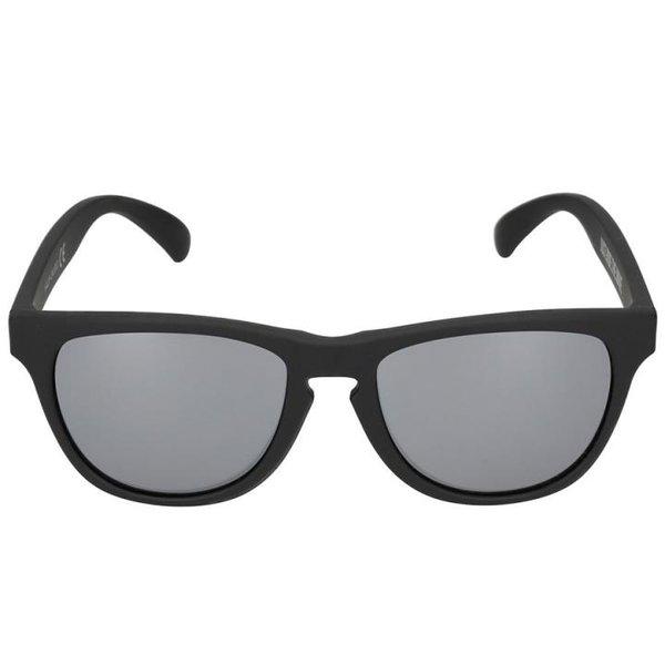 4F - Sonnenbrille DESIGN - REVO Gläser UV 400 - dark black matt