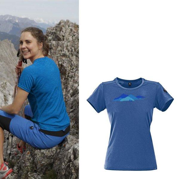 Maul - Sonnberg 2019 - Damen Wandershirt - blau