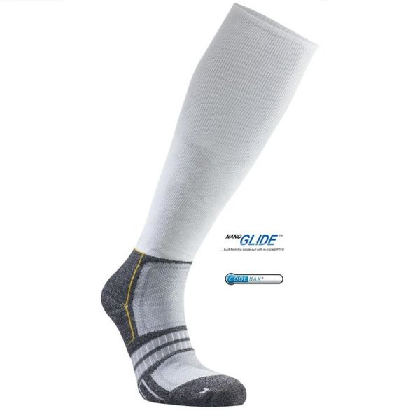 SEGER - Running Plus Compression - Profi Laufsocken - weiß