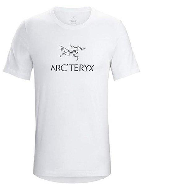 Arc'teryx Herren Word Ss T-Shirt - Baumwollshirt weiß, S