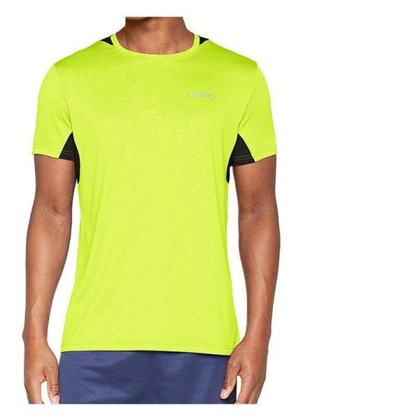Craft Herren Breakaway One T-Shirt Running Sportshirt - neongelb - S