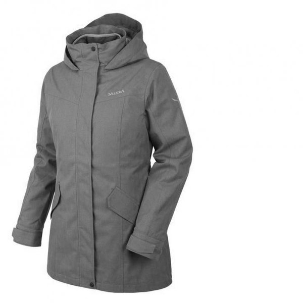Salewa Ciampac Shell Jacket-2-lagen Damen Jacke Outdoormantel - grau 42 L/XL