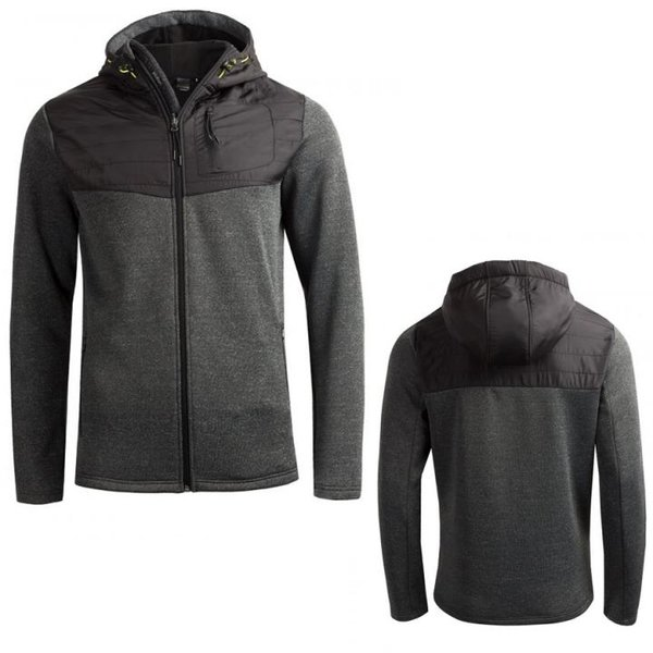 Outhorn - Herren Sweat-Fleece-Jacke - dunkelgrau