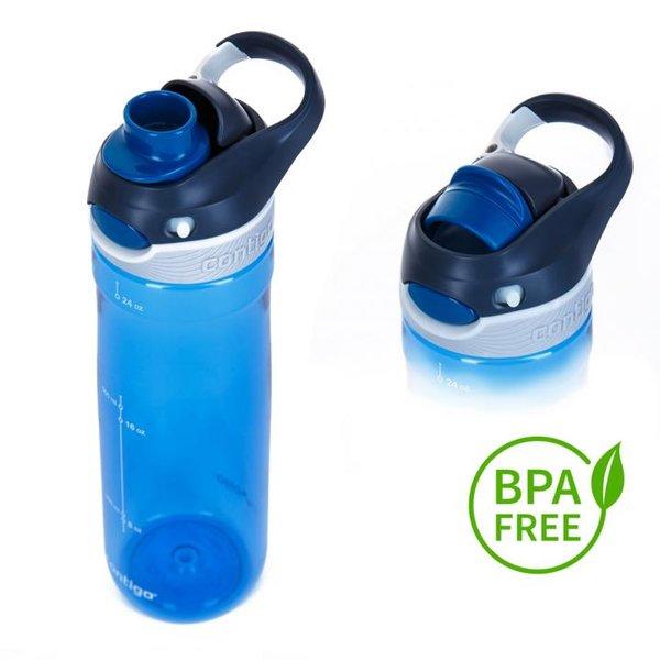 Contigo Trinkflasche Chug Sport Fitness Flasche - 720ml - blau