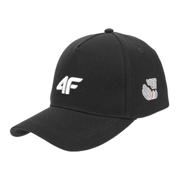 4F - Vierschanzentournee Kollektion - Schildmütze Cap - schwarz