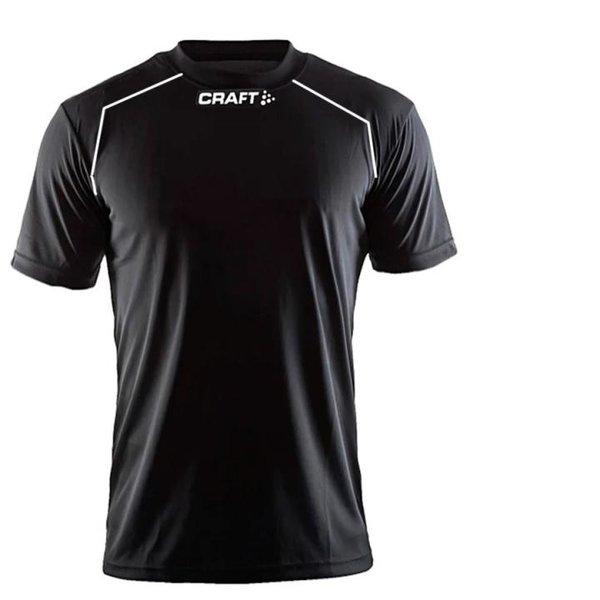 Craft - Herren Funktionsshirt Sportshirt T&F Tee - schwarz