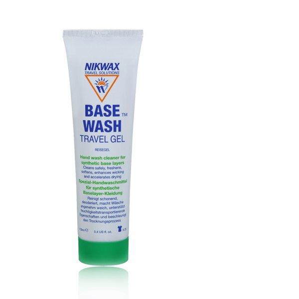 NIKWAX - BaseWash Reinigungsgel für die Reise - Spezial-Handwaschmittel für Sport Kleidung - 100ml