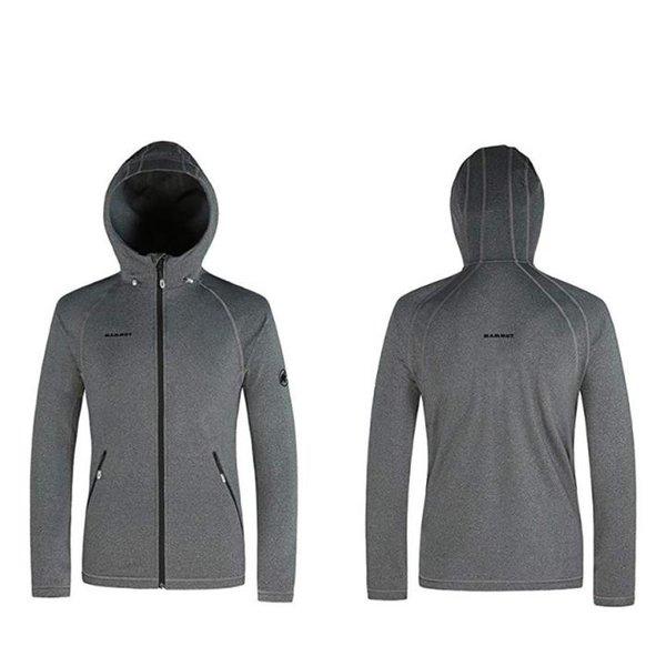 Mammut Herren Midlayer-Jacke Arctic Fleecejacke - grau - XL