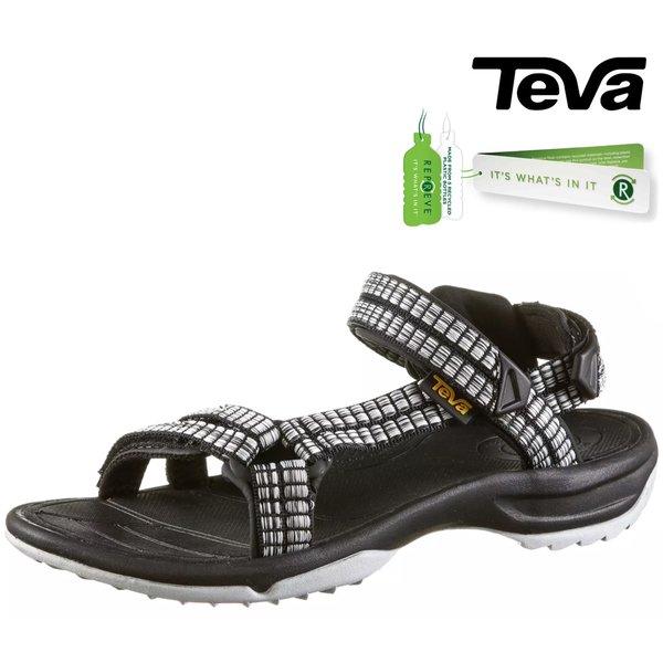 Teva - W Terra Fi Lite - Damen Sandalen Trekkingsandalen, schwarz