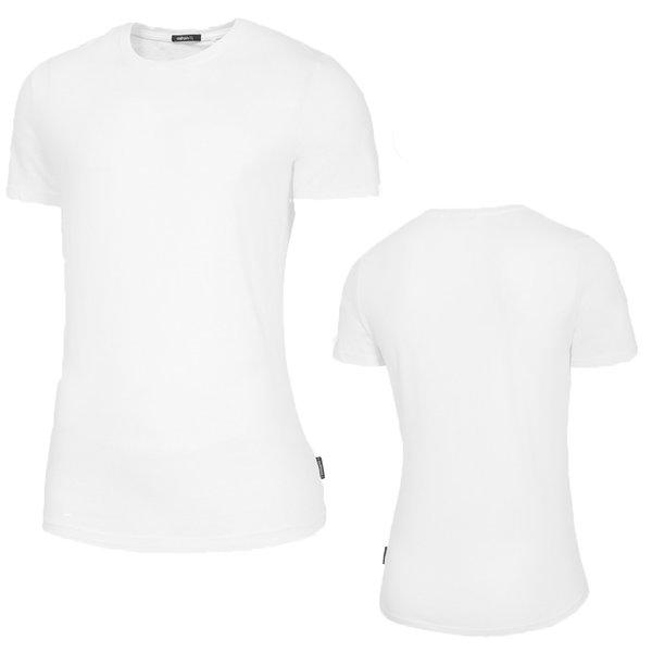 Outhorn - Herren Basic T-Shirt Baumwolle - weiß