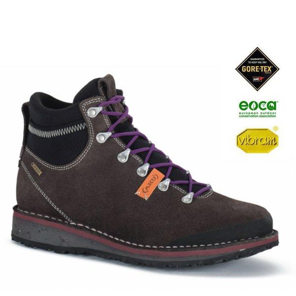 AKU - BADIA GTX Outdoorschuhe Goretex Vibram, brown violet