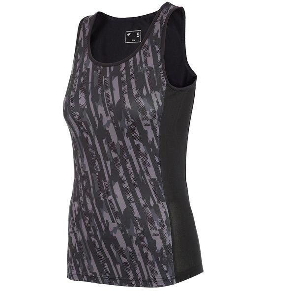 4F - Damen Fitness Tank-Top - schwarz