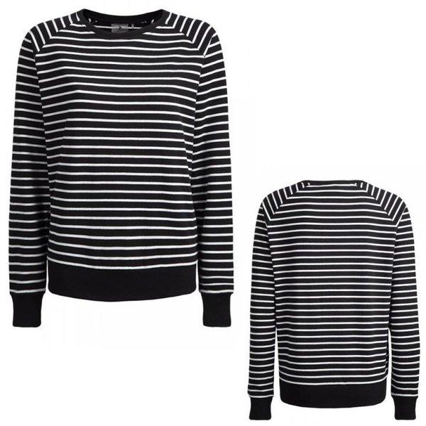 Outhorn - Damen Pullover - schwarz weiß gestreift