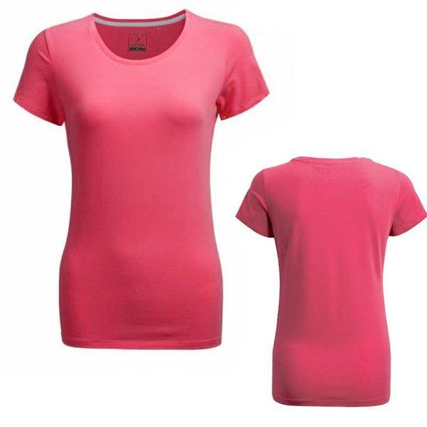 Outhorn - Dame Basic T-Shirt- pink