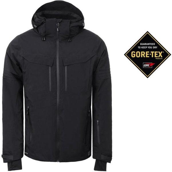 Rukka - Goretex Winterjacke SALO Membran Regenjacke, schwarz