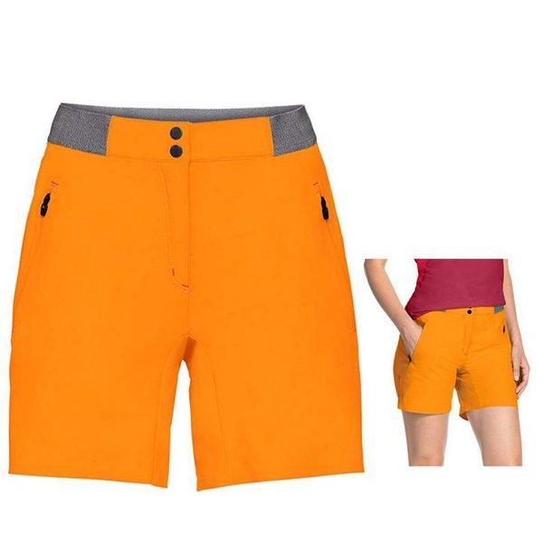 Vaude Damen Women's Scopi Lw Shorts Ii Hose Wandershorts - orange 36/S