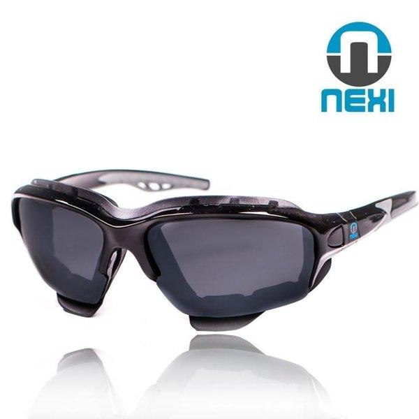 Nexi - S1 Black Demon - Winter Sportbrille Sonnenbrille - 3 Wechselscheiben