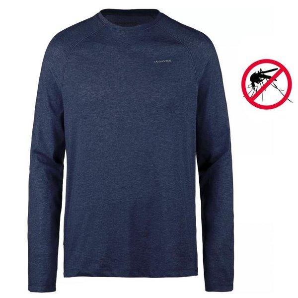Craghoppers - NosiLife Bayame II Langarm Shirt - navy