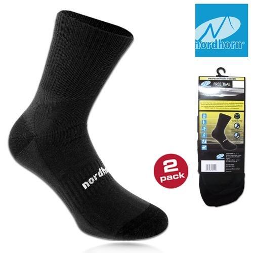 nordhorn - Profi Free Time Socken - Allround Socken 2 Paar