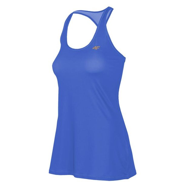 4F - Damen Fitness Tank Top - blau