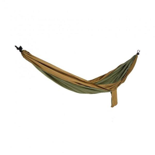 Spokey - Cocoon 2 - Reisehängematte - braun grün