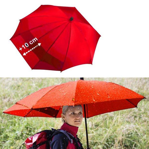 Euroschirm - Swing Backpack - Extraschutz für Rücken und Rucksack - rot