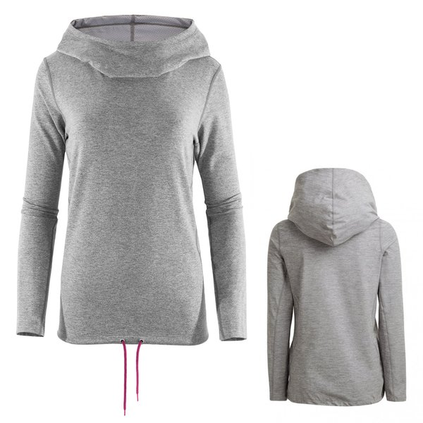 outhorn - Comfy Hoodie - Damen Pullover -grau XS