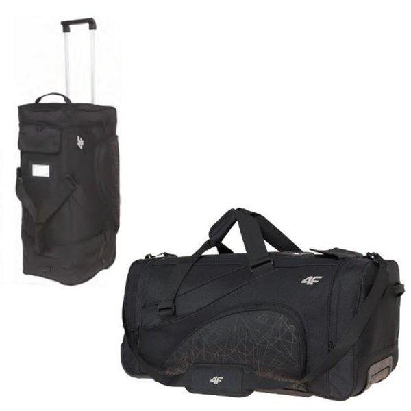 4F - Rolltasche 80L - Sport/Reise Tasche -schwarz