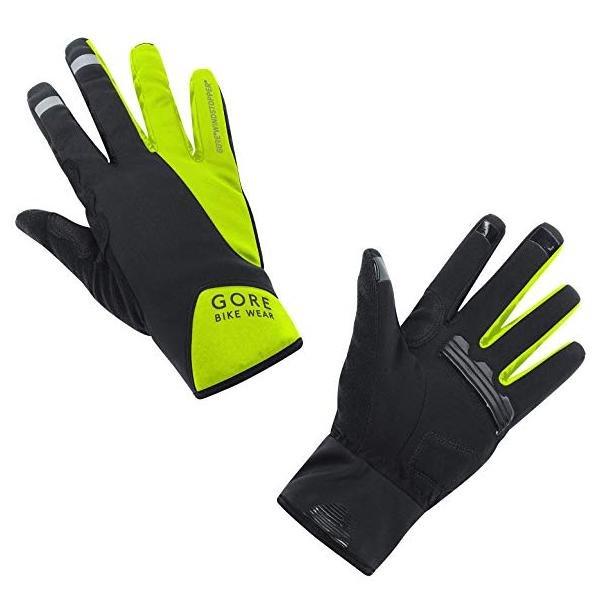 GORE BIKE WEAR Unisex Fahrradhandschuhe, GORE WINDSTOPPER, POWER Gloves, neon grün, 6