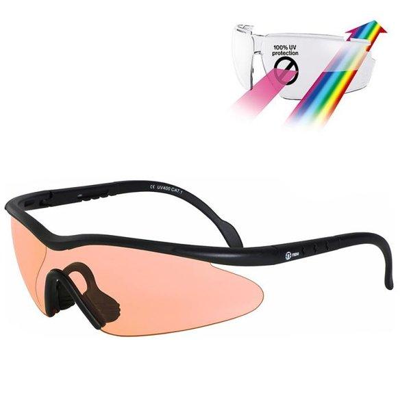 Nexi - SHIELD BIKE Sportbrille Sonnenbrille, 100% UV Schutz