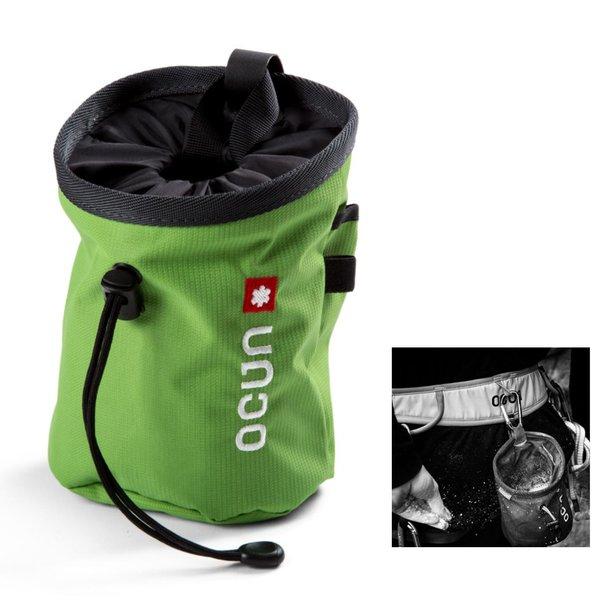 OCUN - funktioneller Chalkbag inklusive passendem Gürtel zur Befestigung - Push + Belt - grün