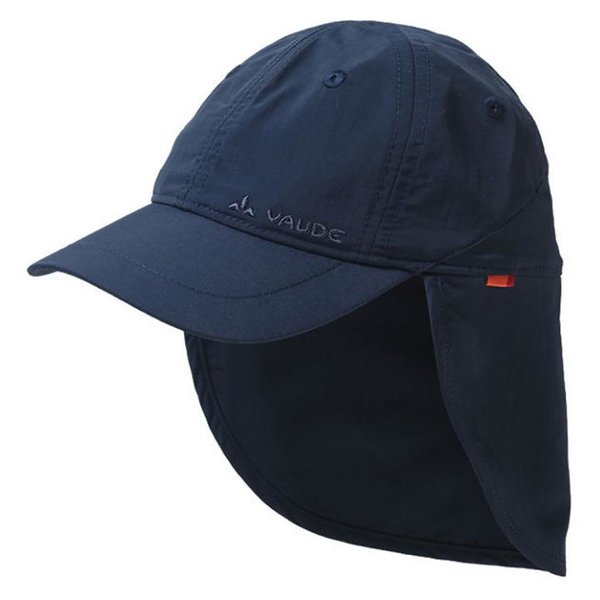 Vaude - Sahara Cap III - Kinder Mütze mit Nackenschutz - navy