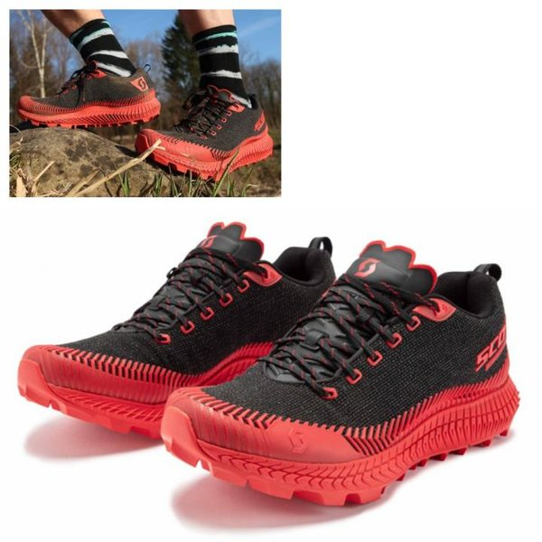 Scott - Supertrac Ultra RC Herren Trailrunning Jogging Schuhe, schwarz rot
