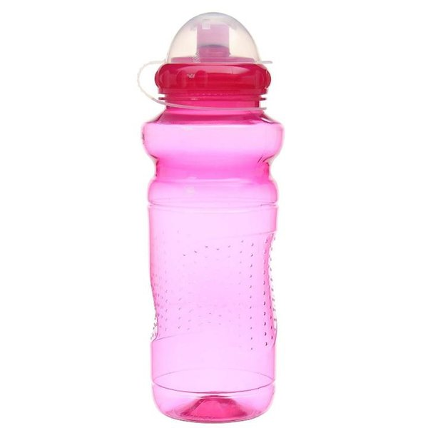 Mighty Trinkflasche Kunststoff 700 ml pink-rot-transparent)