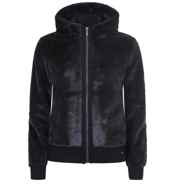 Icepeak - Damen Fleece Jacke Empire Jacket, schwarz