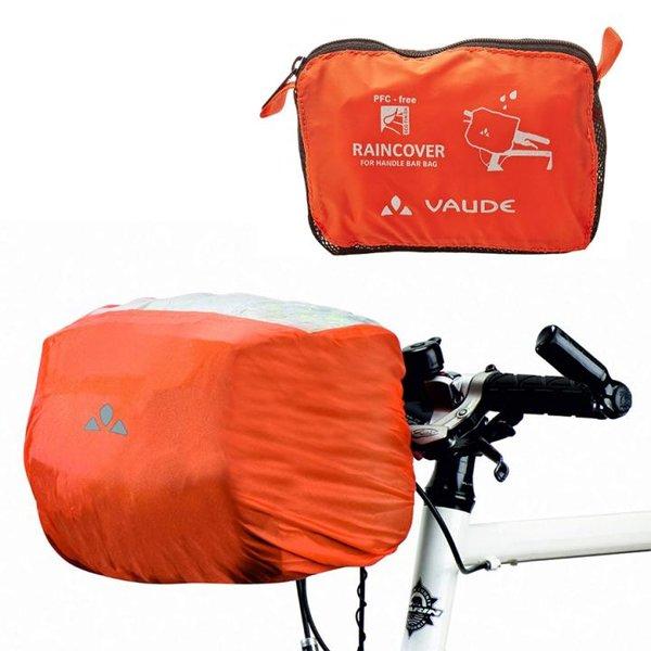 Vaude - Regenhülle für Fahrrad Lenker Taschen - orange