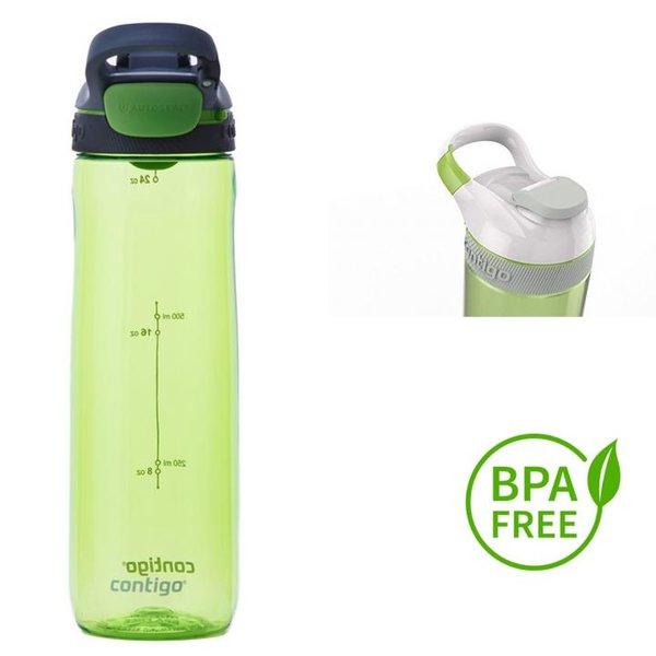 Contigo Trinkflasche Cortland Sport Fitness Flasche - 750ml - grün