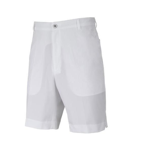 IJP Design Herren Poulter Golfshorts-Tech - Herren Sportshorts - weiß 28 XS/S