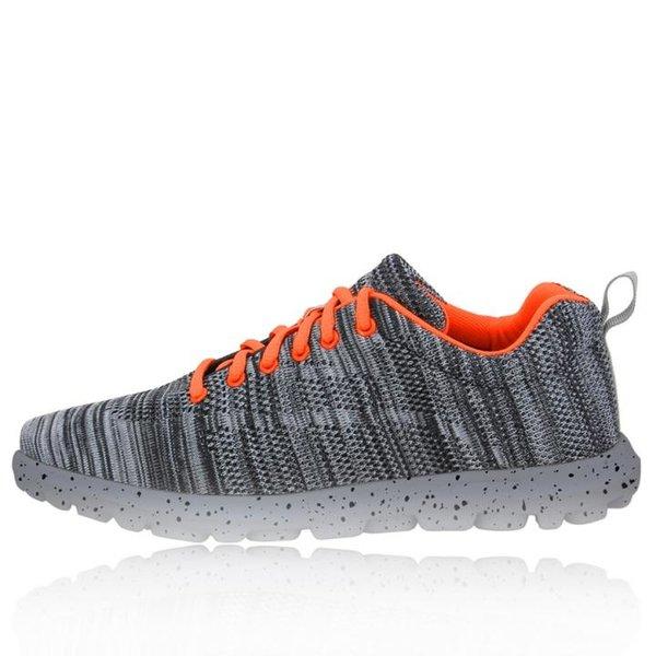 2117 of Sweden - Stoff Mesh Schuhe - Damen Sportschuhe - black grey