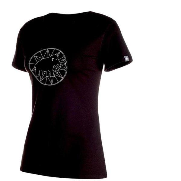 Mammut Damen Logo T-shirt, Schwarz, L