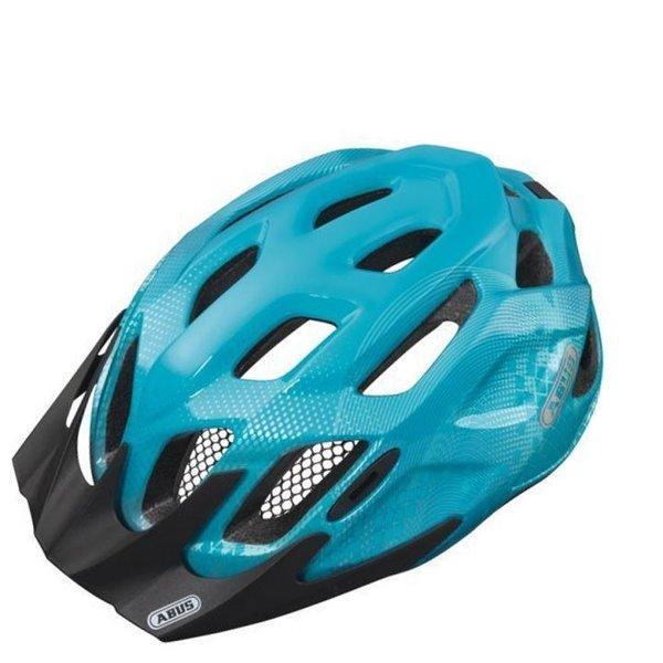 ABUS Fahrradhelm MountX Kinderhelm, blau, 53-58 cm