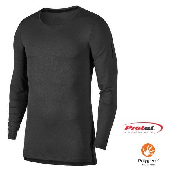 TERMO SAFE COMFORT - Herren Protal Waxman Langarmshirt Longshirt Funktionsfaser - schwarz