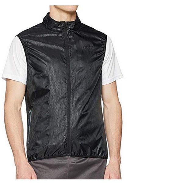 Craft Herren Breakaway LT Weight Vest M L Sport- Rad- Laufweste - schwarz - XL