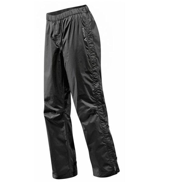 Vaude - Fluid Full-Zip - Damen Regenhose - schwarz