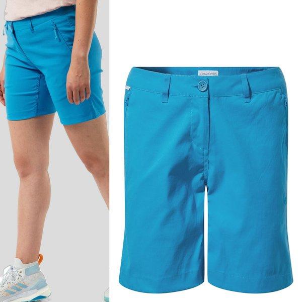 Craghoppers - Kiwi Pro - Damen Trekking Shorts - blau